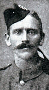 rivate Ross Tollerton 1st Queen's Own Cameron Highlanders awarded the Victoria Cross for his conduct at the Battle of the Aisne, 10th to 13th September 1914 in the First World War