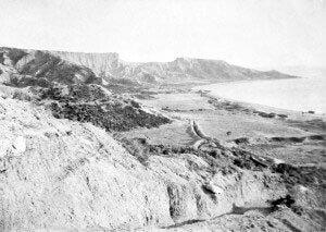 Anzac Cove in April 1915