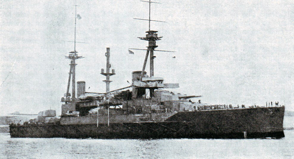 Sultan Osman I: One of two battleships under construction in British shipyards in 1914 sold to the Turkish navy, one of these ships financed by Turkish public subscription. The battleship was commandeered by the British Government and joined the Royal Navy's Grand Fleet as HMS Agincourt: Gallipoli campaign Part I: the Naval Bombardment, March 1915 in the First World War