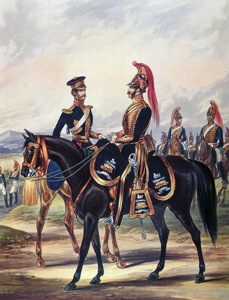 Bengal Horse Artillery: Battle of Kabul 1842 in the First Afghan War: print by Ackermann