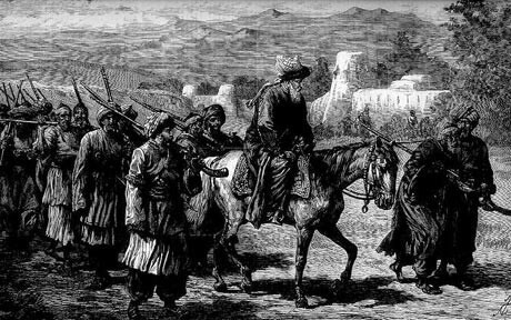 Afghan Band: Siege of Jellalabad from 12th November 1841 to 13th April 1842 during the First Afghan War