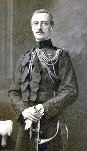 Lieutenant-Colonel the Hon. George Morris of the Irish Guards, killed at the Battle of Villers Cottérêts on 1st September 1914 in the First World War
