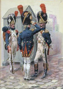 Grenadiers of the Guard: Battle of Waterloo on 18th June 1815