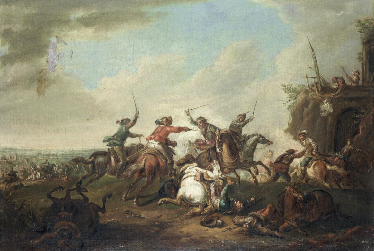 Battle of Lostwithiel 11th August to 2nd September 1644 in the English Civil War
