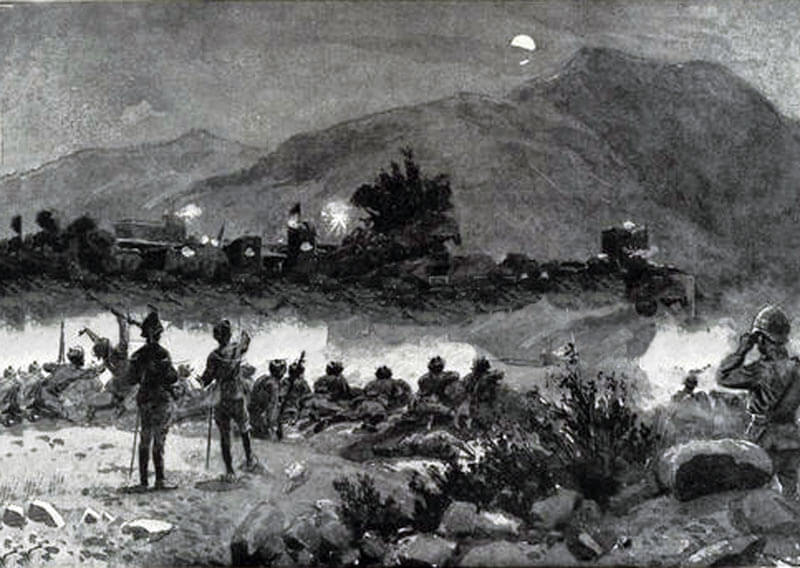 The action at Bilot on the night of 16th September 1897: Malakand Field Force, 8th September 1897 to 12th October 1897 on the North-West Frontier of India