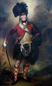 Colonel Francis Humberston Mackenzie who raised the 78th Highlanders: Battle of Assaye on 23rd September 1803 in the Second Mahratta War in India