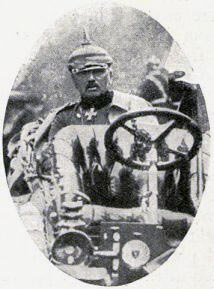 General von Kluck commanding the German First Army: Battle of Le Cateau on 26th August 1914 in the First World War