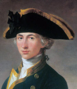 Commodore Horatio Nelson: Battle of Cape St Vincent on 14th February 1797 in the Napoleonic Wars