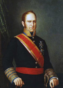 General Joaquin Blake Spanish Commander at the Battle of Albuera on 16th May 1811 in the Peninsular War