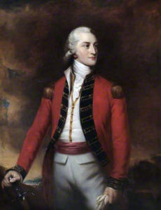 Major General John Gaspard le Marchant killed at the Battle of Salamanca on 22nd July 1812 during the Peninsular War