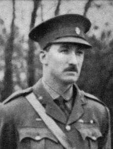 Lieutenant Colonel George Ansell commanding officer of 5th Dragoons Guards, killed at the Battle of Néry on 1st September 1914 in the First World War