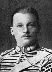 Lieutenant Mundy of L Battery Royal Horse Artillery killed at the Battle of Néry on 1st September 1914 in the First World War