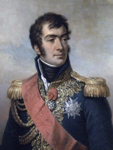 Marshal Marmont, French Commander at the Battle of Salamanca on 22nd July 1812 during the Peninsular War