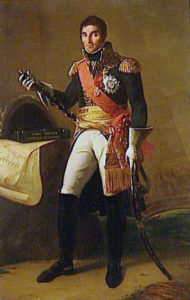 Marshal André Massena, Prince of Essling and Duke of Rivoli French commander at the Battle of Busaco on 27th September 1810 in the Peninsular War