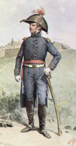Portuguese Staff Officer: Battle of Salamanca on 22nd July 1812 during the Peninsular War