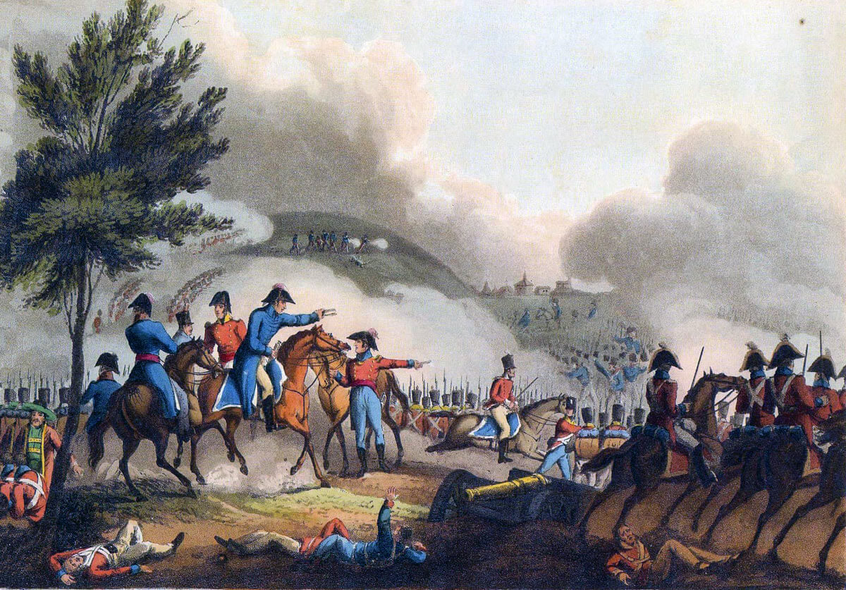 Battle of Salamanca on 22nd July 1812 during the Peninsular War