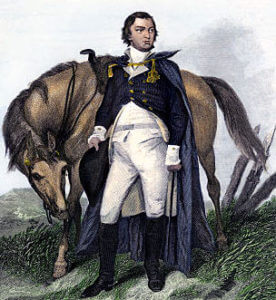 Major-General Nathaniel Greene: Battle of Germantown on 4th October 1777 in the American Revolutionary War