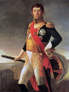 Marshal Soult French commander at the Battle of the Passage of the Douro on 16th May 1809 in the Peninsular War