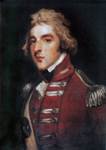 Lord Wellington as a young officer: Battle of Busaco on 27th September 1810 in the Peninsular War
