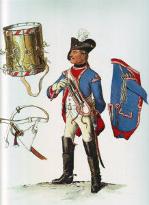 Dragoon No 5 Bayreuth: Battle of Hohenfriedberg 4th June 1745 in the Second Silesian War: picture by Adolph Menzel