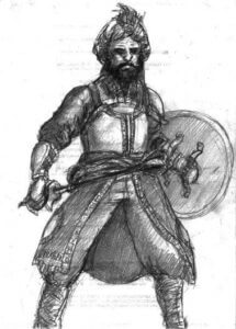 Sikh Warrior: Battle of Aliwal on 28th January 1846 in the First Sikh War
