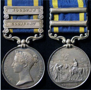 Punjab Campaign, 1848-9 Medal: Battle of Goojerat on 21st February 1849 during the Second Sikh War