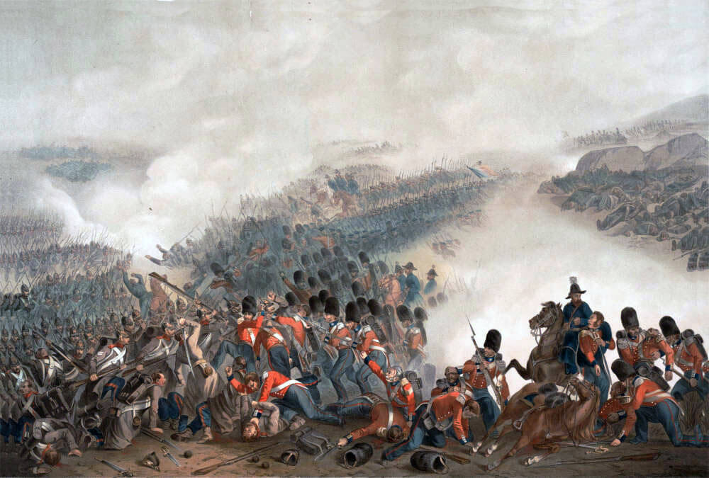 Battle of Inkerman on 5th November 1854 in the Crimean War