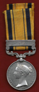 Zuu War Medal: Battle of Isandlwana on 22nd January 1879 in the Zulu War