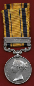 Zulu War Medal: Battle of Ulundi on 4th July 1879 in the Zulu War
