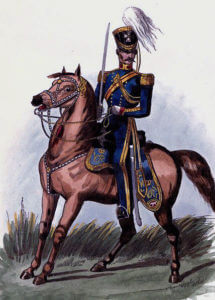 3rd King's Own Light Dragoons: Battle of Ferozeshah on 22nd December 1845 during the First Sikh War