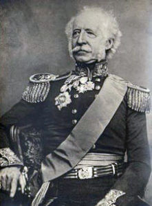 Major General Sir Hugh Gough, British commander at the Battle of Chillianwallah on 13th January 1849 during the Second Sikh War