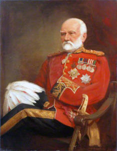 Lieutenant General Sir Sam Browne VC, British commander at the Battle of Ali Masjid on 21st November 1878 in the Second Afghan War