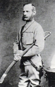 Lieutenant General Sir Frederick Roberts VC, British commander at the Battle of Kabul December 1879 in the Second Afghan War