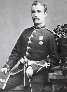 Private Samuel Wassall of the 80th Regiment awarded the Victoria Cross for his actions at the Battle of Isandlwana on 22nd January 1879 in the Zulu War