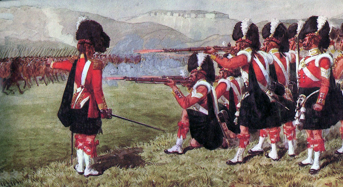 The Thin Red Line tipped with steel: 93rd Highlanders at the Battle of Balaclava on 25th October 1854 in the Crimean War