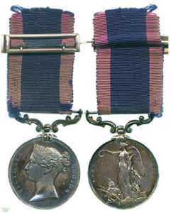 Sutlej campaign medal of Captain Lawrence Fyler of HM 16th Queen's Lancers engraved with the Battle of Aliwal, now in the Fitzwilliam Museum in Cambridge