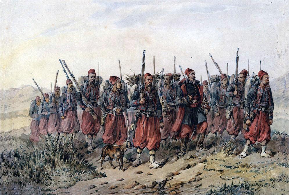 Французы на Крымской войне.