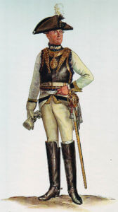 Prussian Kürassier-Regiment von Gessler No 4: Battle of Soor 30th September 1745 in the Second Silesian War: picture by Adolph Menzel