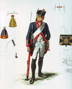 Prussian Infantry Regiment Von Schwerin No 24 (the regiment lost 13 officers and 522 men in the battle): Battle of Prague, 6th May 1757 in the Seven Years War