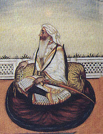 Tej Singh, Sikh commander at the Battle of Sobraon on 10th February 1846 during the First Sikh War