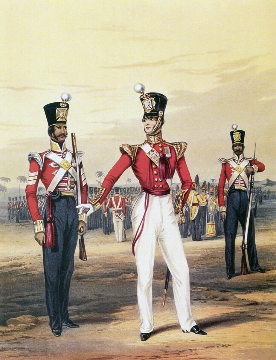19th Bombay Native Infantry: Battle of Goojerat on 21st February 1849 during the Second Sikh War