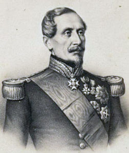 Marshal de Saint-Arnaud, French commander-in-chief at the Battle of the Alma on 20th September 1854 during the Crimean War