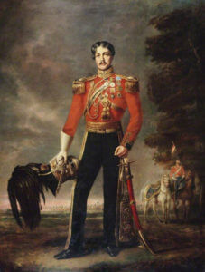 Lieutenant Colonel George Mouat-MacDowell 16th Queen's Light Dragoons (Lancers): Battle of Aliwal on 28th January 1846 in the First Sikh War