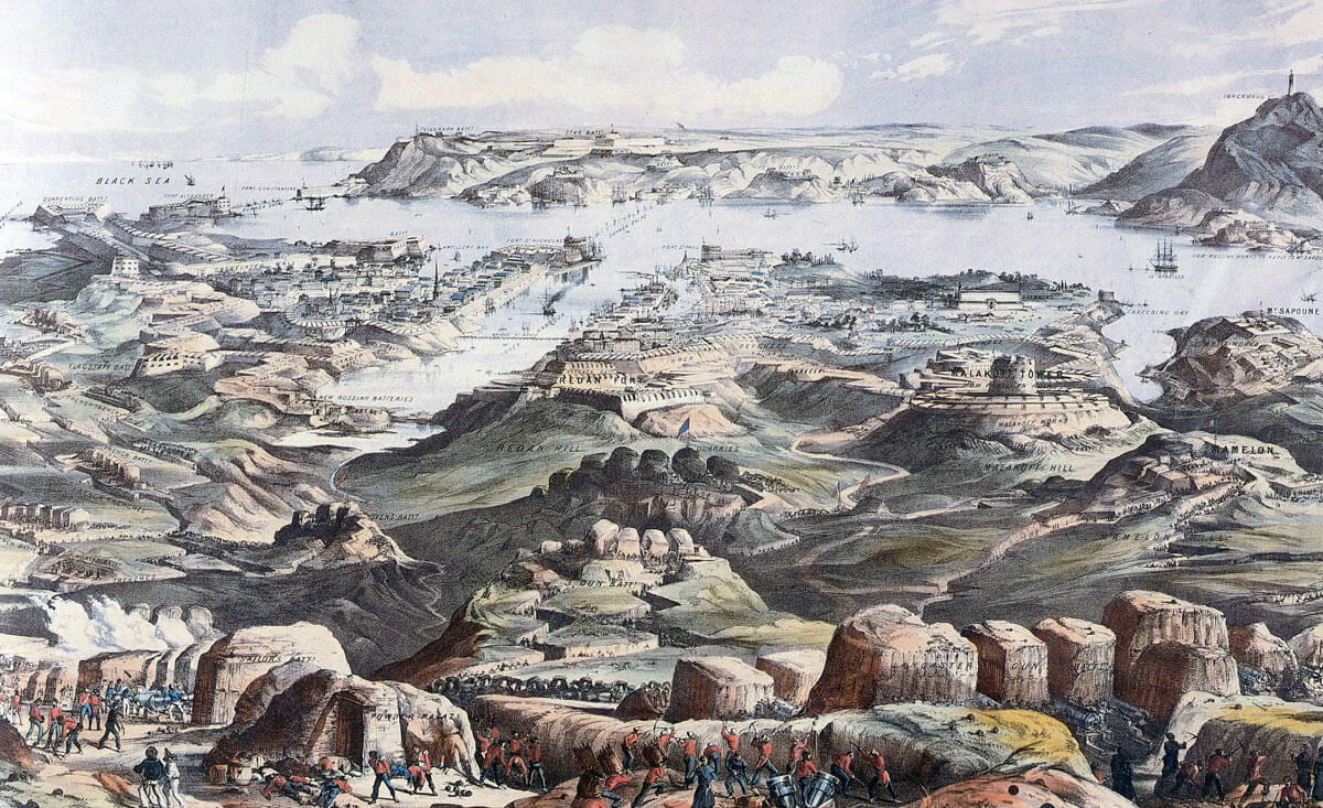 Panorama of the Siege of Sevastopol from the British lines, September 1854 to September 1855