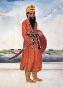 Ranjit Singh, Sikh Maharaja of Punjab: Battle of Aliwal on 28th January 1846 in the First Sikh War