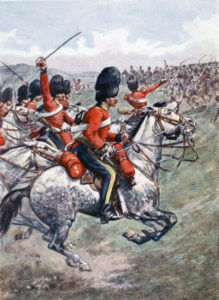 Royal Scots Greys: Battle of Balaclava on 25th October 1854 in the Crimean War