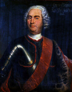 Field Marshal Kurt von Schwerin, Prussian commander killed at the Battle of Prague 6th May 1757 in the Seven Years War