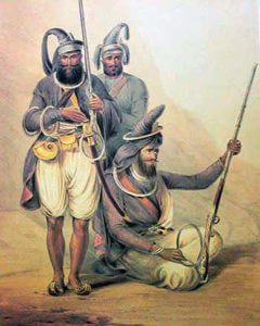 Akali Sikhs: Battle of Ferozeshah on 22nd December 1845 during the First Sikh War