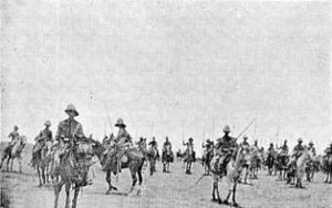21st Lancers in the Sudan: Battle of Omdurman on 2nd September 1898 in the Sudanese War