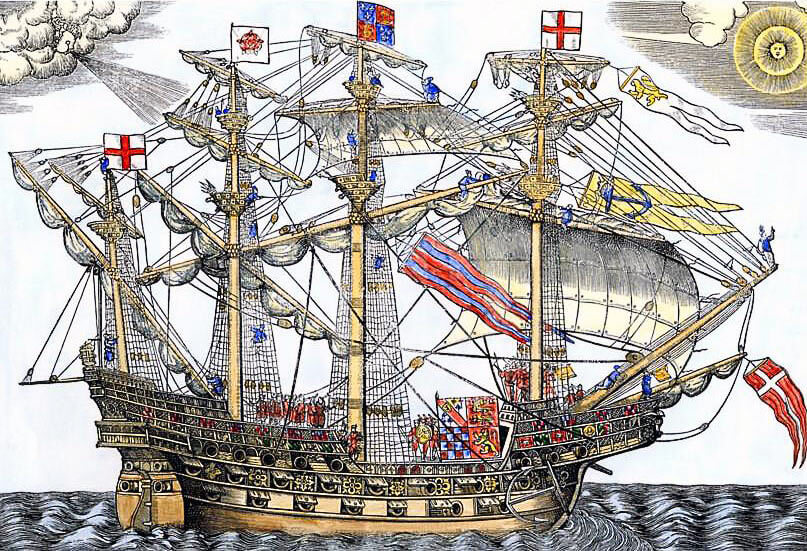 Ark Royal the English Flag Ship: Spanish Armada June to September 1588